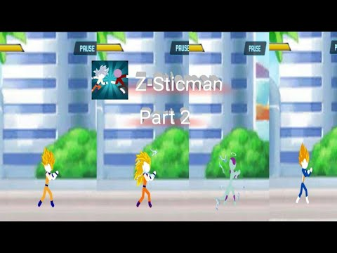 Z-Stickman:Battle of Dragon Warrior |Gameplay| Part 2 |