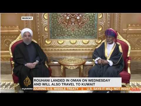 Iran's Rouhani visiting Oman and Kuwait, Dorsa Jabbari for AJE