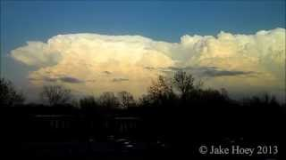 Towering Cumulus Time Lapse 4-15-13 Norman Oklahoma 64x