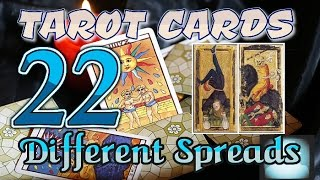 Tarot Card Spreads (22 Different Spreads) Five-Seven Cards