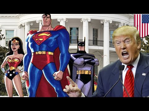 Trump Witch Hunt: The Donald needs the Justice League of America - TomoNews