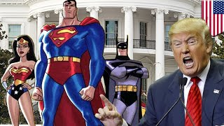 Trump Witch Hunt  The Donald needs the Justice League of America   TomoNews
