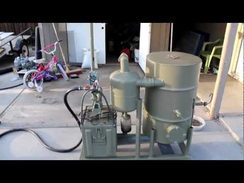 FEMA wood gasifier demonstration and