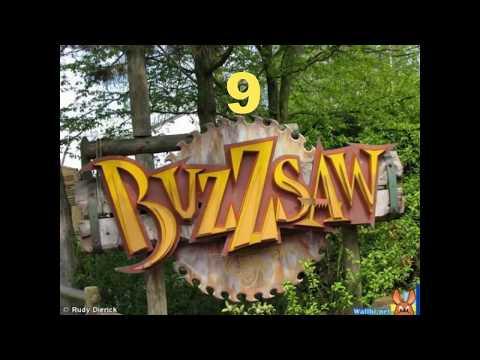 Top 10 attractions Walibi Belgium [HD]
