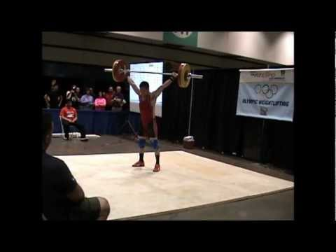 American Record Makers Anthony Vong 110 snatch