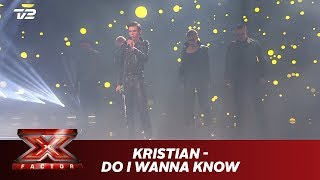 Kristian synger 'Do I Wanna Know' -  Arctic Monkeys (Live) | X Factor 2019 | TV 2
