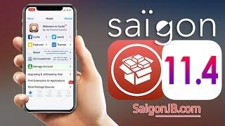 iOS 11.3 Jailbreak 😲 [ iOS 11 Jailbreak | SaigonJB LAUNCHED] Install Cydia on iOS 11 | UNTETHERED