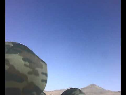Самолет почти над землей. Армения. Гюмри. 102 военная база в Армении.  Другой ракурс