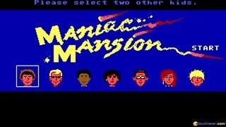 Maniac Mansion (Enhanced Version) gameplay (PC Game, 1989)