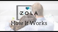 Zola Weddings | How It Works | Wedding Planning Tools
