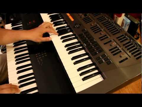 Roland JD-800 & Korg M1 New Age demos