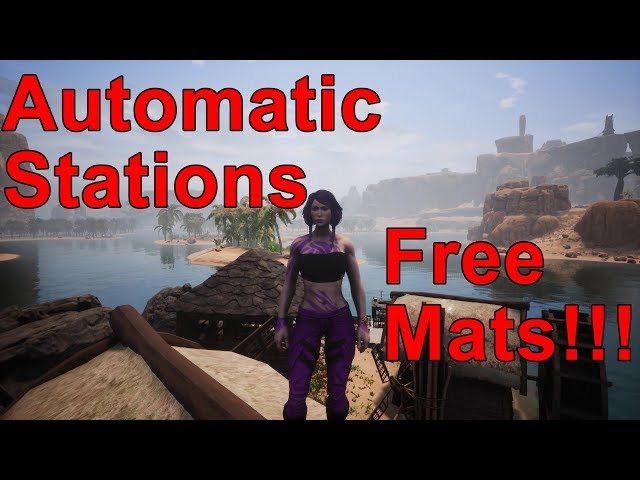 Automatic Stations - Age of Calamitous Conan Exiles