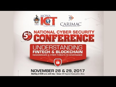 5th National Cyber Security Conference Jamaica Opening Ceremony