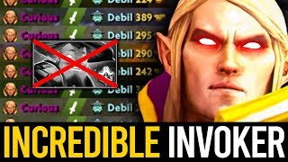 LOOKS LIKE TOPSON IN THIS GUY - ABSOLUTELY PERFECT QUAS WEX INVOKER | Dota 2 Invoker