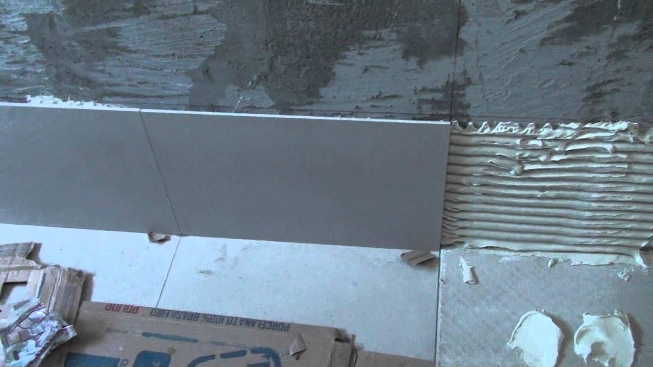 Instalação de Paredes #1 do Porcelanato 60X60 e 1mm de Spacer  #1671B5 1920x1080 Banheiro Com Porcelanato 60x60
