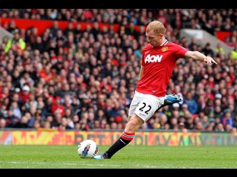 Paul Scholes ● Legendary Long Passing Skills