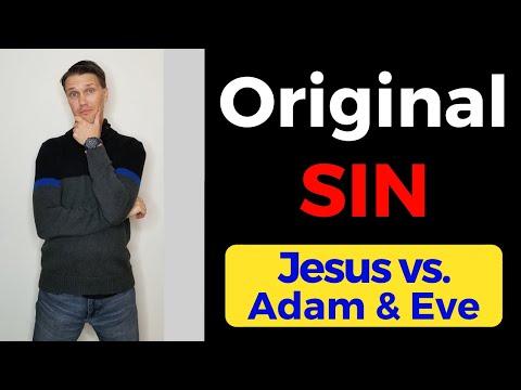 The Original Sin (Jesus vs  Adam and Eve)