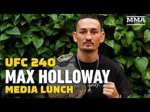 Holloway pokes at McGregor: 'Some people win championship belts, some people defend them'