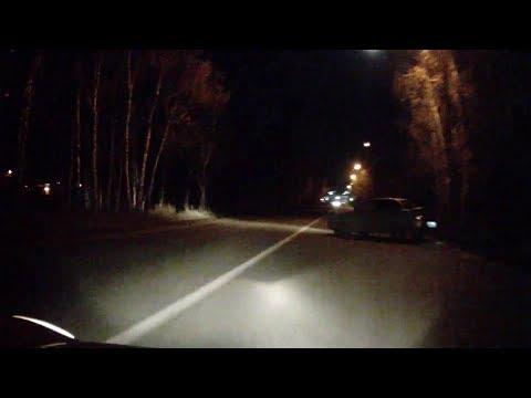 видео: ДТП Старотобольский тракт (район ленты) 25.10.18, 20:45