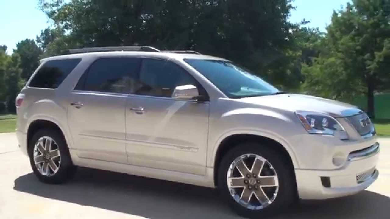 Gmc Yukon For Sale >> HD VIDEO 2012 GMC ACADIA DENALI CUSTOM PAINT FOR SALE SEE WWW SUNSETMOTORS COM - YouTube