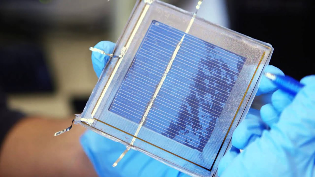 Self Cleaning Solar Panels Youtube
