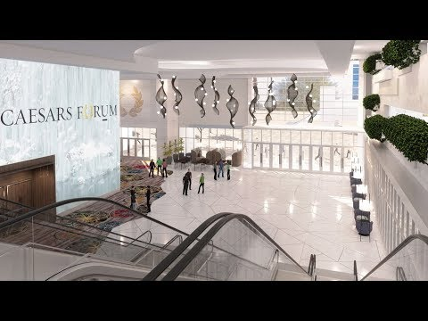 Caesars Entertainment Breaks Ground on CAESARS FORUM