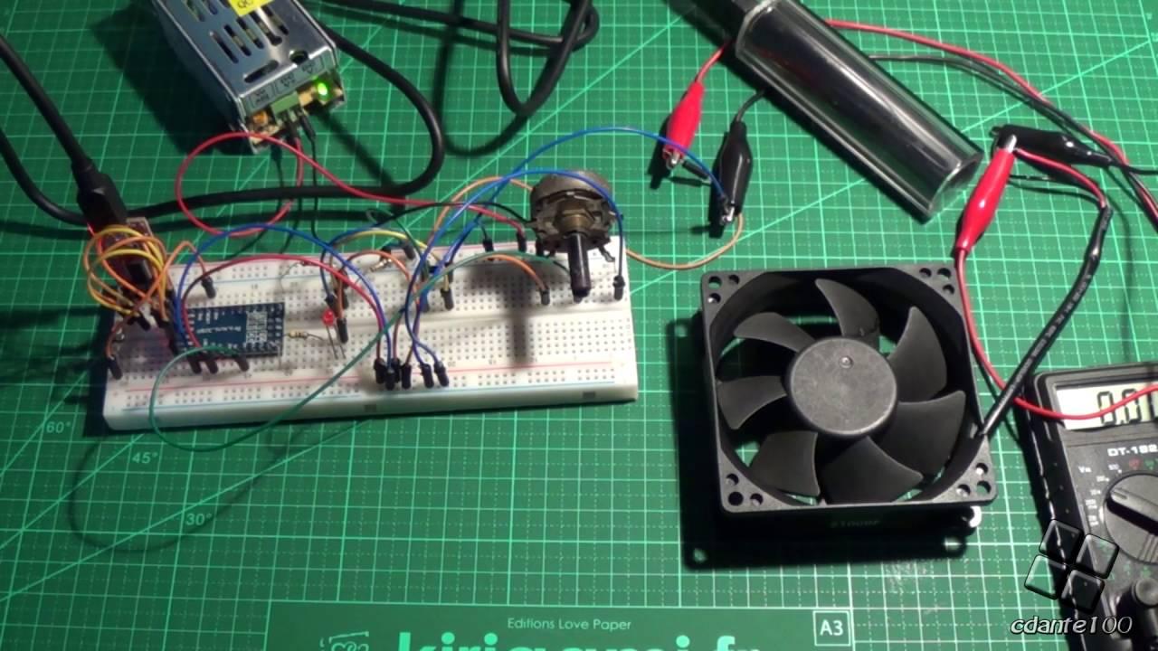2 wire pc fan speed control with pwm arduino 12v  [ 1280 x 720 Pixel ]