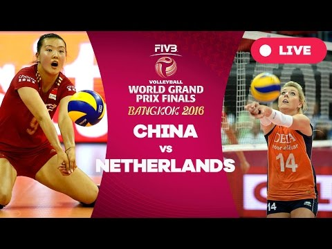 China v Netherlands - Group 1: 2016 FIVB Volleyball World Grand Prix