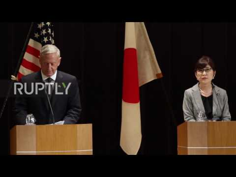 Japan: US will defend Japan's administration of Senkaku Islands, says Mattis