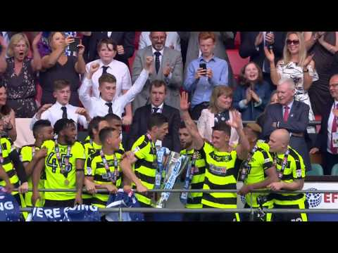 HIGHLIGHTS: Town win promotion to the Premier League!