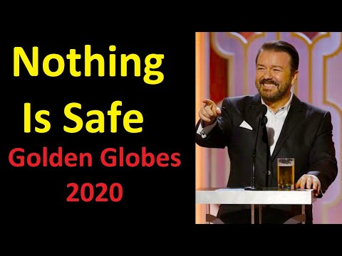 Ricky Gervais Makes Fun Of Everything in Golden Globes 2020 Monologue (Full)