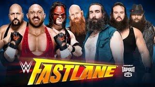 ST 221 (10) WWE Fastlane 2016 Wyatt Family vs Big Show, Kane & Ryback Match Predictions