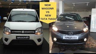 New Big WagonR vs New Tiago XZ+ 2019