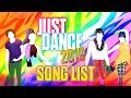 Just Dance 2019: Song List - Fanmade.
