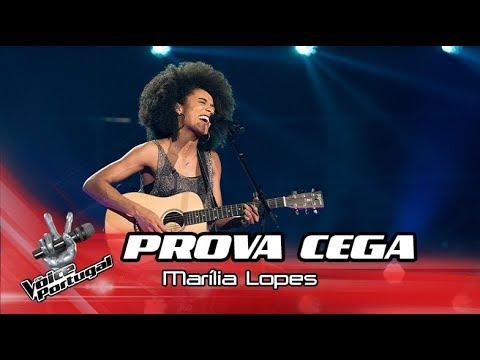 """Marília Lopes – """"Trevo tu""""  Prova Cega  The Voice Portugal"""