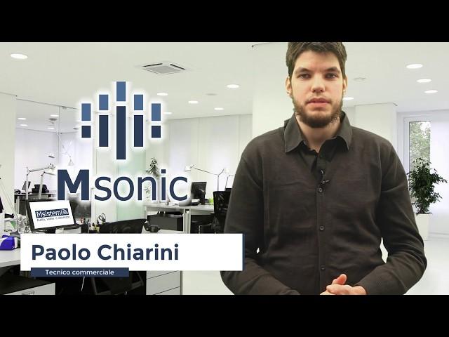 Msistemi presenta Msonic per certificazione STIPA