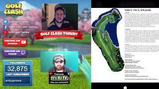 Golf Clash tips, TEXTGUIDES - Walkthrough of the WINTER MAJOR tournament! With Mr Rj TV!