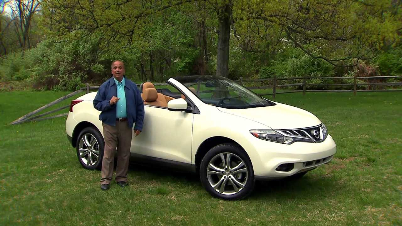 Great Road Test: 2011 Nissan Murano CrossCabriolet   YouTube