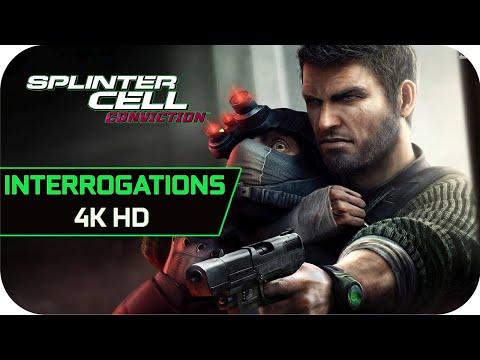 Sam Fisher Interrogations 4K [Tom Clancy's Splinter Cell: Conviction]