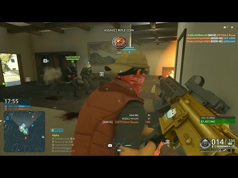 Battlefield Hardline Multiplayer Gameplay - CRAZY HOUSE PARTY + 2 MANY DEATHS!