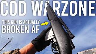 Call of Duty Warzone - This gun is ACTUALLY broken...