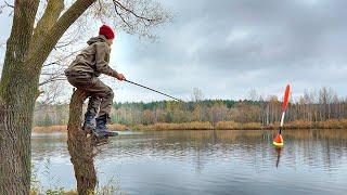 Рыбалка с сыном на поплавок