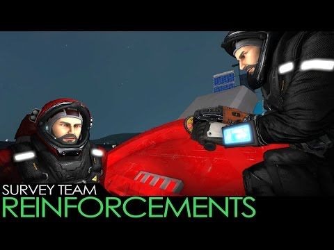 Space Engineers - Mining Survey Team - REINFORCEMENTS! (Cooperative Survival)