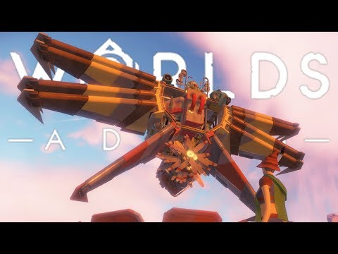 THE COMPLETED 'PROTOTYPE G' GLITCH SHIP! (AND RANDOM GAMES GIVEAWAY) | Worlds Adrift Closed Beta