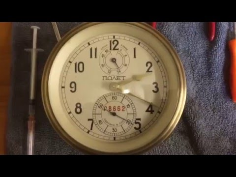 Poljot Marine Chronometer repaired and running