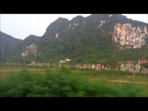 Guangzhou - Beijing Reisebilder / Train in china