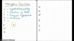 Easy Ways to Remember Phenytoin Toxicities
