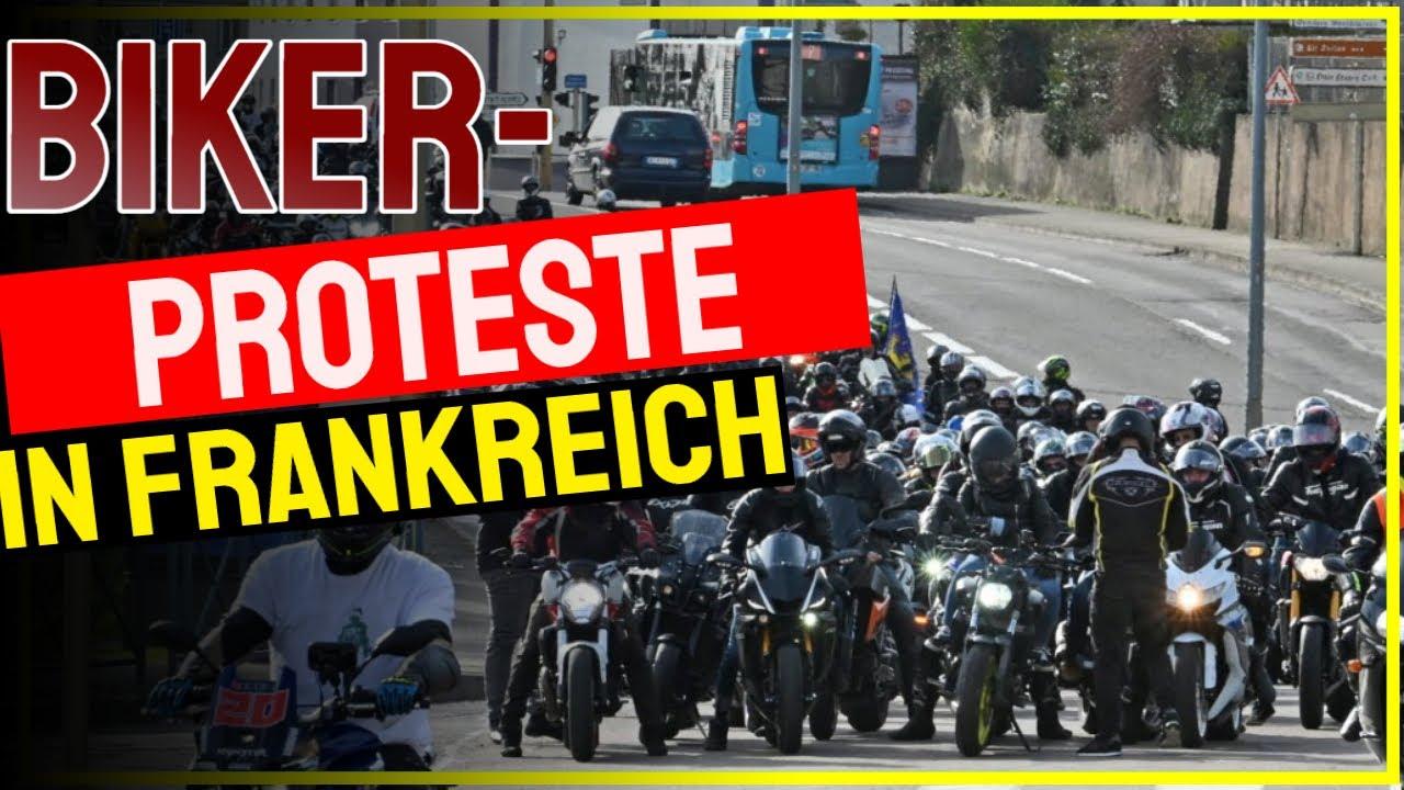 Proteste in Frankreich nach Abschaffung des Lane Splitting | Motorrad-Demo | MOTORRAD NACHRICHTEN