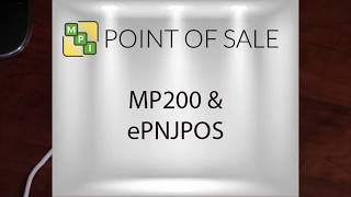 MP200 Chip Card Eprocessing EPN