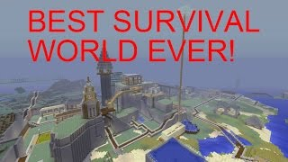 Minecraft EPIC Survival World Tour! (MUST SEE)
